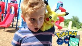 Pokemon Go In Real Life Hunting Pokemon Toys Game