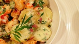 Lobster Potato Salad with Tarragon Mayonnaise