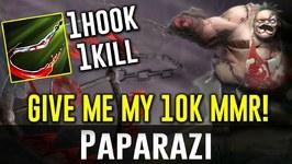 Paparazi GIVE ME MY 10000 MMR PUDGE Dota 2
