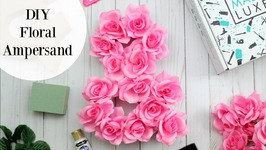 DIY Floral Ampersand Home Made Luxe Craft Kit