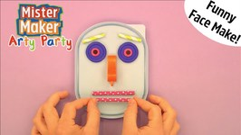 Funny Face Make - Arty Party - Mister Maker
