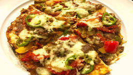 Low Carb Keto Crust less Pizza