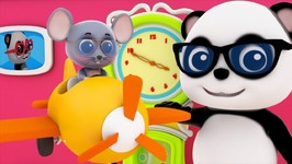 Hickory Dickory Dock - Bao Panda Song And Video For Toddlers - Nursery Rhymes