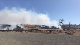 Residents Evacuated as Fire Near Coalinga Grows to 8,200 Acres