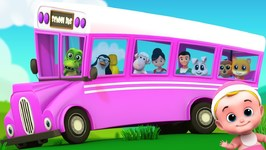 Wheels On The Bus - Junior Squad - Nursery Rhymes For Babies
