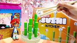 Sunset Shimmers Sushi Truck - Flying Sushi Kitchen Game