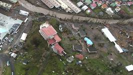 Aerial Footage Shows Hurricane Maria Damage in Dominica