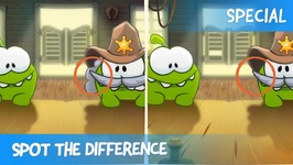Spot the Difference Ep 38 - Om Nom Stories- Wild West