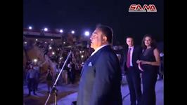 First Concert In Several Years Held at Aleppo Citadel
