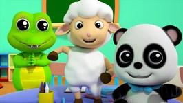 Mary Had A Little Lamb - Bao Panda Video For Babies - Nursery Rhymes