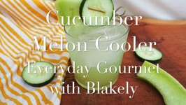 Cucumber Melon Cooler Cocktail