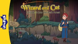 Wizard and Cat 3 - Into the Dark Forest - Fantasy - Animated Stories for Kids