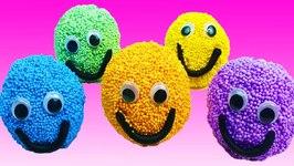 Learn Colors for Kids Foam Surprise Eggs Superhero