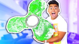 DIY Mega Giant Gummy Fidget Spinner - MASSIVE
