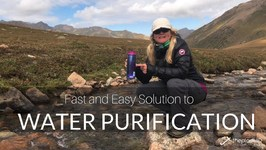 Water Purification - How to Use the Steri Pen Water Filtration System