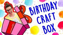 Get Crafting With Crafty Carol For Your Birthday - Cool School Birthday Craft Box