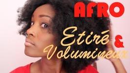 Mon Afro Etiré Et Volumineux  Marciabloem