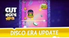 Cut the Rope- Time Travel - Disco Era Update