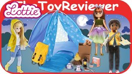 Lottie Finn And Friends Dolls Campfire Fun Playset Sammi Super Unboxing Toy Review