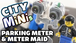 How To Build A Lego Parking Meter - Meter Maid Mobile - Lego City Minis - 1