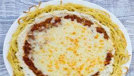 Vegetarian Spaghetti Pie