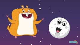 13 Facts About The Moon (Luna) - Fun Facts With Hamlet The Hamster - Educational Videos
