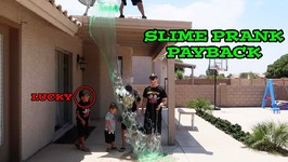 SLIME PRANK PAYBACK on DAMIAN and DEION