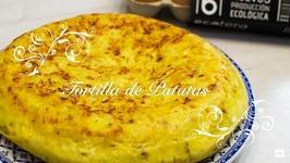 Tortilla De Patatas / Tortilla Española / Tortilla De Papas / Tortilla De Patatas Con Cebolla