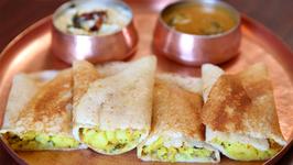 Masala Dosa Recipe  Popular South Indian Breakfast Recipe  Divine Taste With Anushruti
