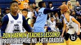 Zion Harmon Proves He's the No 1 8th Grader at NEO Elite - Camp Highlights
