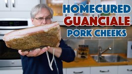 Make Guanciale At Home Cured Pork Cheek - Bacon