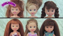 Barbie Doll Barbie's Little Sisters Chelsea Makeovers