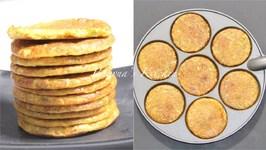 Quick Jowar Pudas Or Chillas - Milo Flour Savory Pancakes
