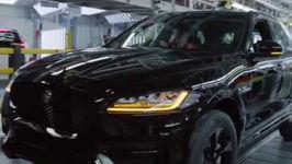 Jose Mourinho makes surpise visit to Jaguar production line