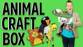 Animal Craft Box - Mister Maker