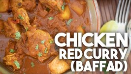 Chicken Red Curry Baffad - Goan Homestyle Recipe