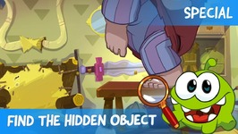 Find the Hidden Object Ep 9 - Om Nom Stories- The Beanstalk