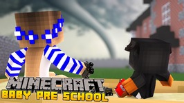 Minecraft-Kindergarten-TORNADO DESTROYS THE SCHOOL!!