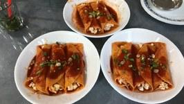 Todays Dinner - Queso Fresco Enchiladas