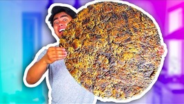 WORLD'S BIGGEST CHOCOLATE CHIP COOKIE  - 100plus LBS