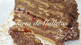 Tarta De Galletas Y Chocolate Para Cumpleaos /  Tarta De Chocolate Con Galletas / Tarta Sencilla