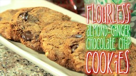 Flourless Almond-Ginger Chocolate Chip Cookies - Rule Of Yum & Emmymadeinjapan