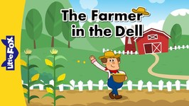 The Farmer in the Dell - Nursery Rhymes - Animated Songs for Kids