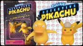 Detective Pikachu Pikachu & Psyduck mini figure set