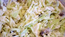 Salade De Chou Vert Simple Et Rapide