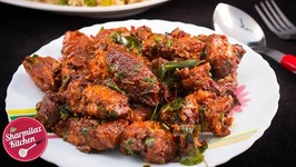 Andhra Street Style Chili Chicken - Very Hot And Spicy Dry Chicken Starter