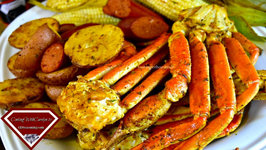 The Best Ever Smoked Crab Legs! How To Make Clarified Butter