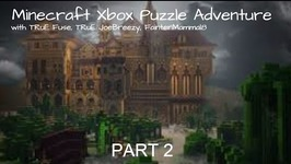 Minecraft Xbox Puzzle Adventure - Triplicity The Overgrown Facility -Part 2