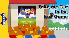 Take Me Out to the Ball Game 2 - Nursery Rhymes - Animated Songs for Kids