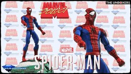 Marvel Select Spider-Man Action Figure by Diamond Select Toys